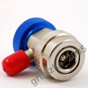 "ZŁĄCZE 1/4"" DO R134a LP"